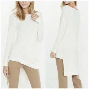 Express Sweater Asymmetrical Ribbed Hi-Lo Tunic